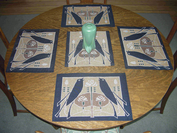 Talwin Morris Songbirds Placemat