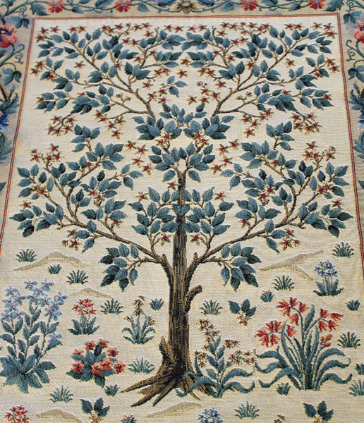 William Morris Tree of Life Inspired Tapestry 67cm x 47cm