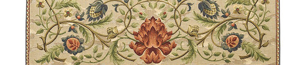William Morris Tree of Life Blue Tapestry 142 cm x 90 cm