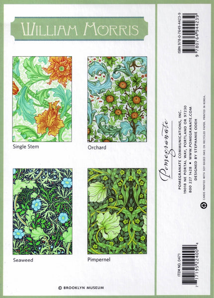 Boxed Set of William Morris Note Cards