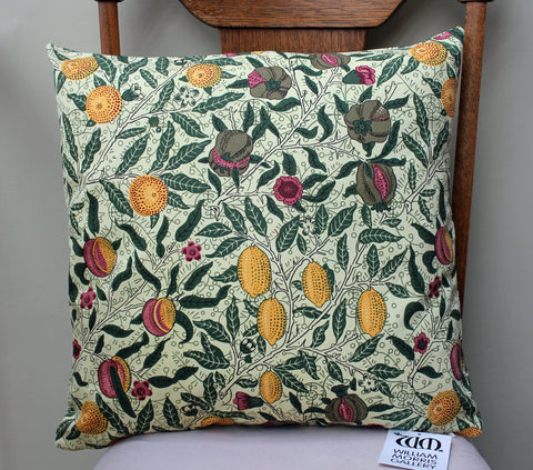 William Morris Gallery Fruits Cushion Cover
