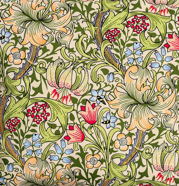 William Morris Gallery Golden Lily Double Oven Glove