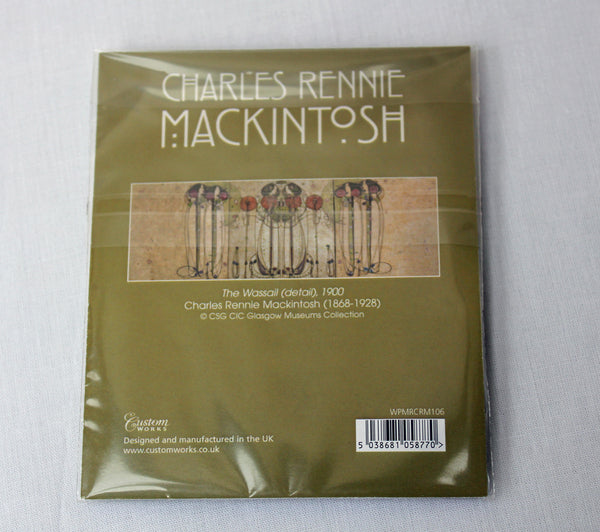 Charles Rennie Mackintosh Wassail Pocket Mirror