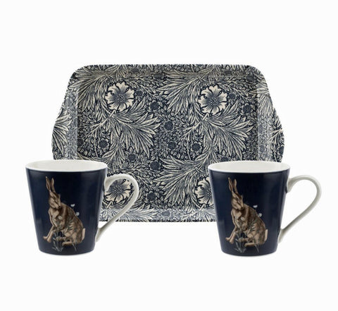 Morris & Co for Pimpernel Wightwick Mugs and Tray Set