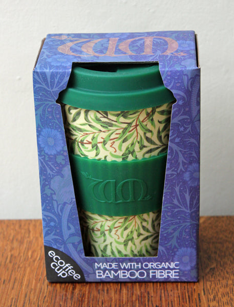 Ecoffee Reusable Cup William Morris Willow 14oz