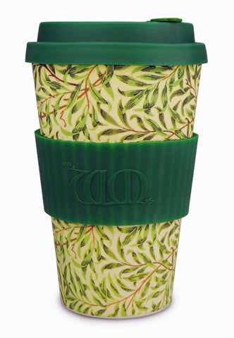 <p>Useful and beautiful, reusable, biodegradable Ecoffee Cup in the Willow Bough design by William Morris. </p>