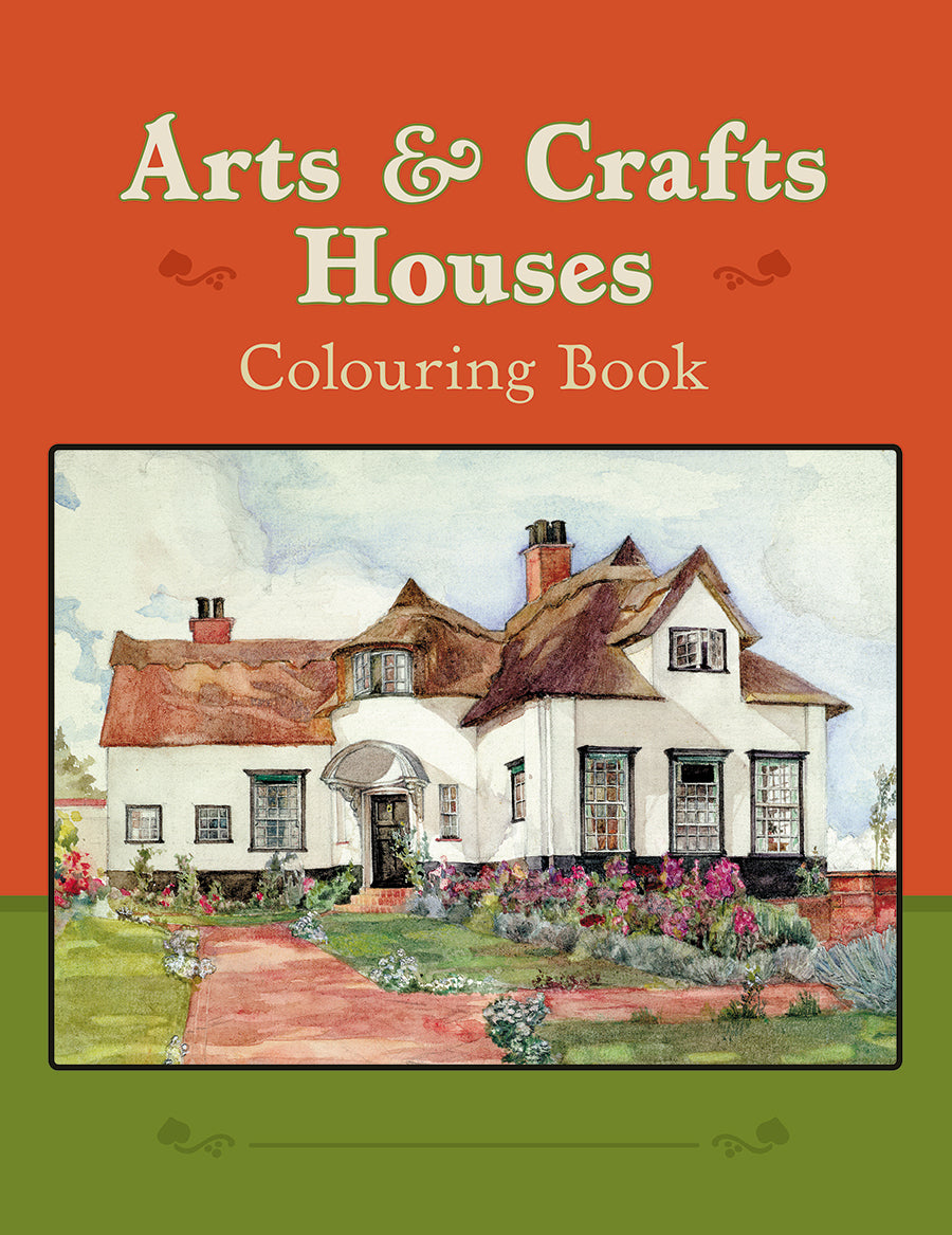 Arts and Crafts Houses Colouring Book