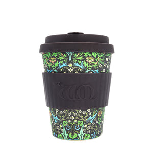 <p>Useful and beautiful, reusable, biodegradable Ecoffee Cup in the Blackthorn design by John Henry Dearle for Morris & Co.</p>