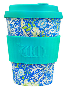 Ecoffee Reusable Cup William Morris Seaweed 12 oz