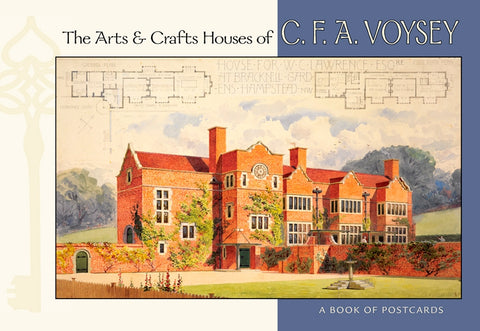 The Arts & Crafts Houses of CFA Voysey: Postcard Book
