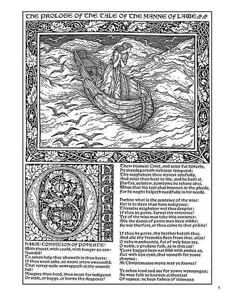 The Kelmscott Chaucer Colouring Book