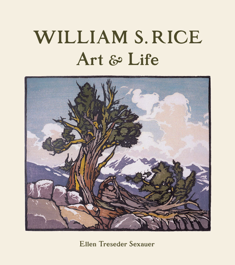 William S Rice Art & Life Hardcover Book