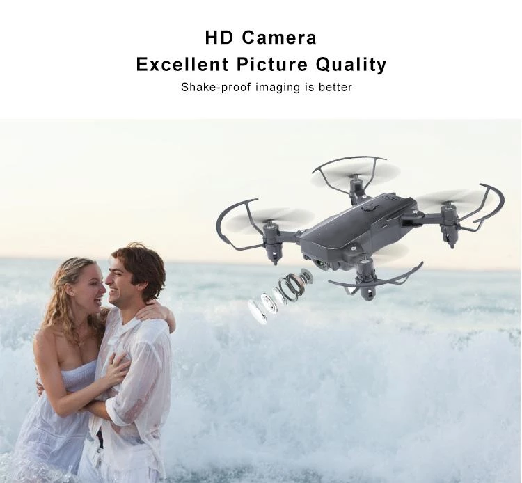 Four-axis HD 4K aerial drone mini folding toy