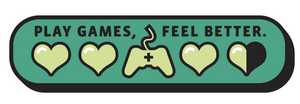 Play Games Feel Better Pin