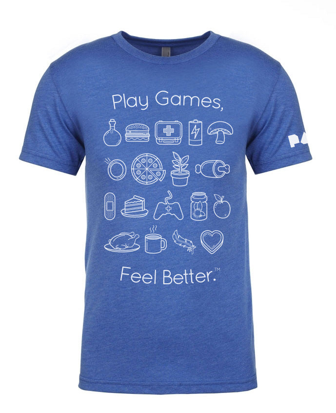 Play Games, Feel Better Tee
