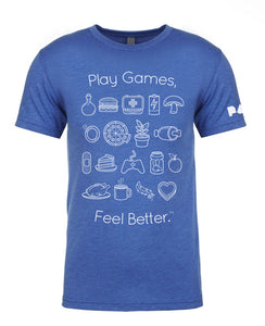 Play Games, Feel Better Tee, PAX Edition