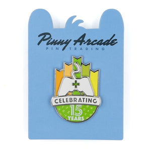 15 Year Anniversary Pin