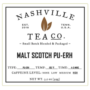 Malt Scotch Pu-erh