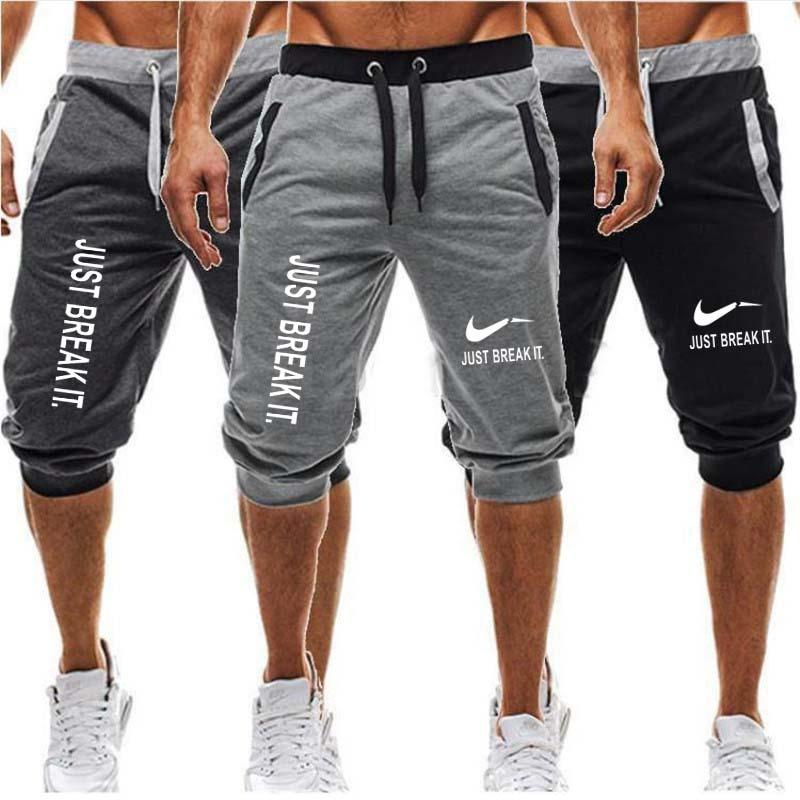 Men/'s Sport Casual Shorts Pants Gym Fitness Bodybuilding Jogging With Pockets LO