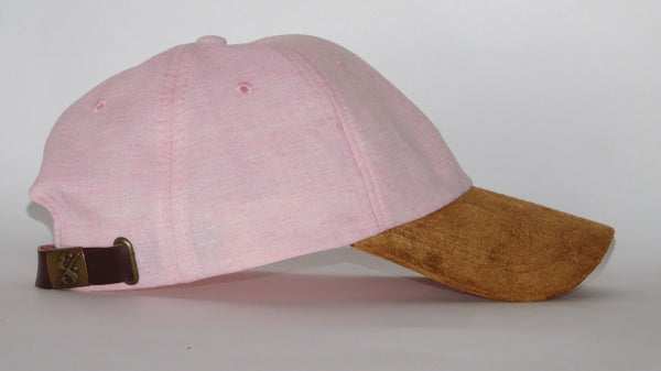 No. 328 Ultralight Pink Chambray Oxford Dad Hat