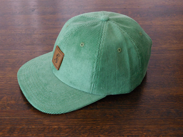 Elusive Society Beach Green Dad Hat Corduroy