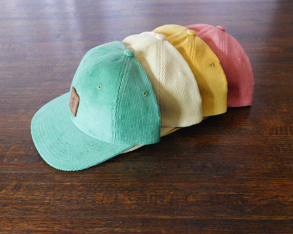 351 Cream Corduroy Dad Hat