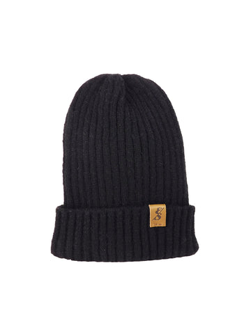 No. 361 The Classic Beanie (Black)