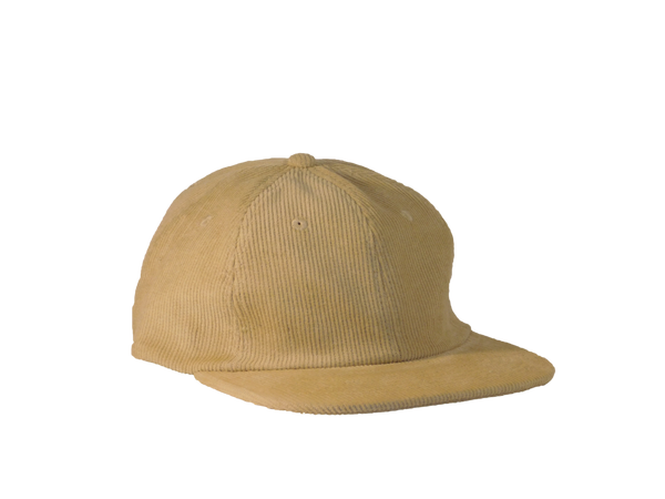 355 Minimalist Beach Cream Corduroy Hat