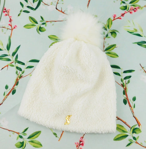 The Aspen Sherpa Beanie With Pom