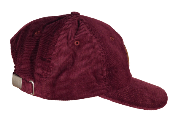 No. 315 Wine Corduroy Dad Hat