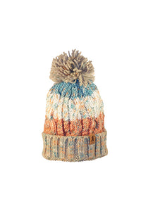 369 Winter Stripe Beanie With Fleece Lining