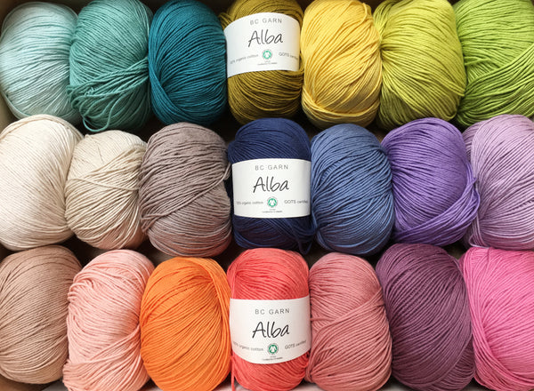Alba Organic Cotton Yarn - Make It Vegan