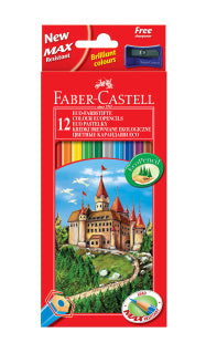 Eco-Colouring Pencils Pack of 12 - Make It Vegan