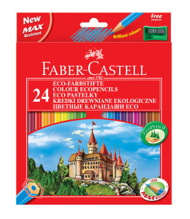 Faber-Castell Eco Colouring Pencils 24 pack - Make It Vegan