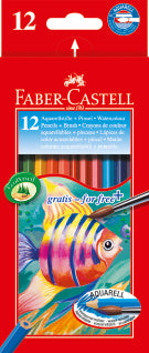 Watercolour pencils 12 pack - Make It Vegan