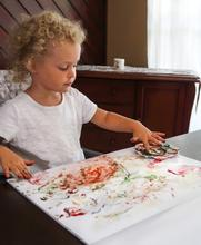Veggie Baby Finger Paint - Make It Vegan
