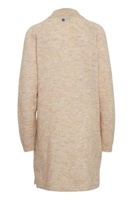 Pulz Rosemary L/S dress sand - Annas Rom