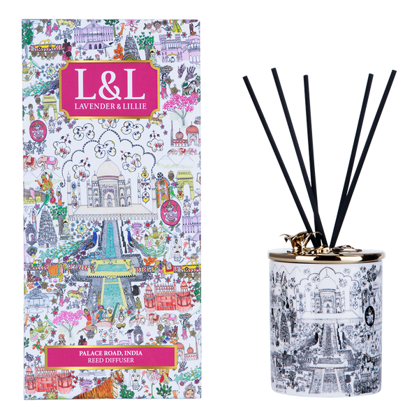 Lavender & Lillie Palace Road, India - Reed Diffuser - Annas Rom
