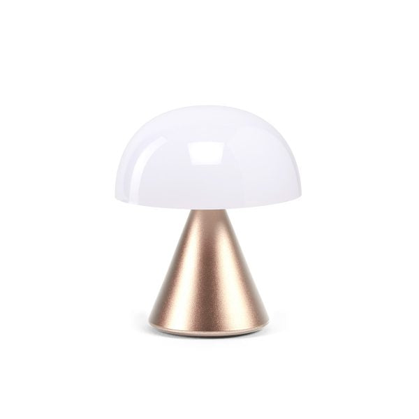 Lexon Mina Mini LED lampe gull - Annas Rom