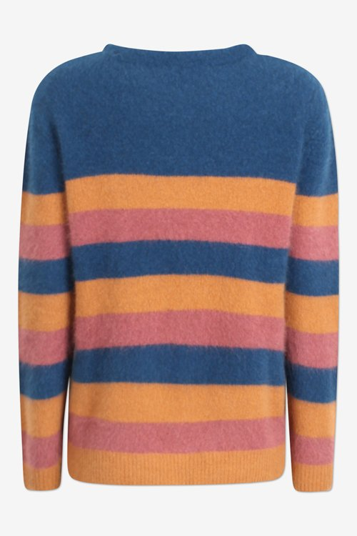 Six Ames Joie stripes sweater Autumn stripes