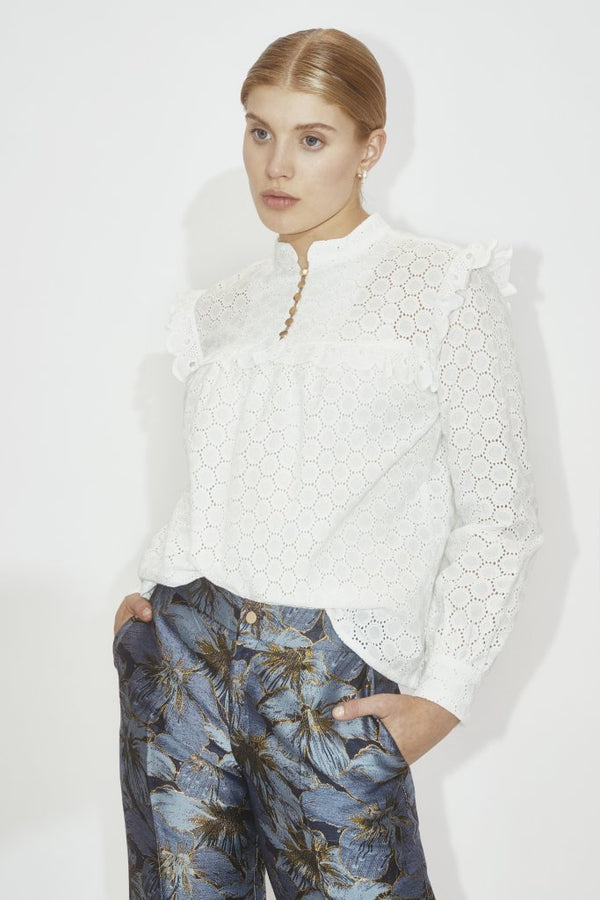 Six Àmes Esme shirt Off white - Annas Rom