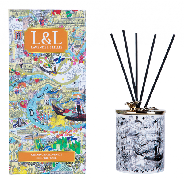 Lavender & lillie Grand Canal, Venice - Reed Diffuser - Annas Rom