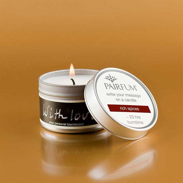 Pairfum London Message candle rich spices - Annas Rom