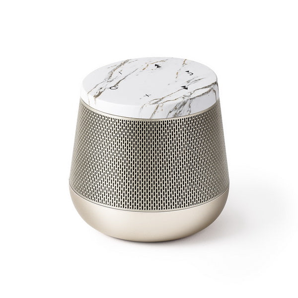 LEXON Miami Sound Bluetooth høyttaler white marble