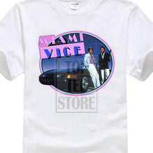 Load image into Gallery viewer, New Miami Vice 80'S Retro Tv Series Don Johnson Men'S Black T Shirt Size S 3Xl