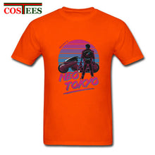Load image into Gallery viewer, Hotline Miami Vintage Capsule Gang T shirt men anime neo tokyo akira motorcycle T-shirt homme manga tee shirt new cartoon tshirt