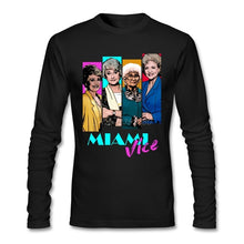 Load image into Gallery viewer, Miami Vice T Shirt Custom Long Sleeve Brand-clothing Hipster Crazy Cotton Crewneck  Fitness Men