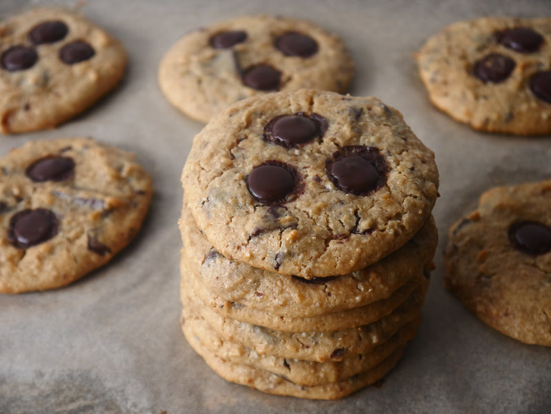 Flourless Chocolate Chip Cookies - Healthy Recipe