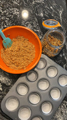 Healthy Carrot Cake Muffins by Baraa El Sabbagh, Dietitian, Personal Trainer and Sports Nutritionist in Dubai