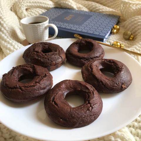 Healthy Donut Recipe by Baraa El Sabbagh Dietitian, Nutritionist, Personal Trainer in Dubai